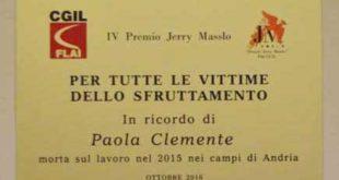 Caporalato arresti per morte Paola Clemente. Galli (flai cgil), soddisfazione perché ci avviciniamo a verità e giustizia per Paola