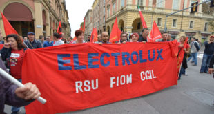 Elezioni RSU Electrolux: FIOM maggioranza in fabbrica, altissima partecipazione al voto