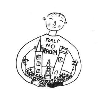 Piazza Della Misura Forli.Lunedi 16 Luglio Piazzetta Della Misura No All Indifferenza No All
